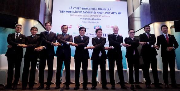 Tham vọng của PRO Vietnam là vào năm 2030 tất cả bao bì do các thành viên đưa ra tiêu thụ trên thị trường sẽ được thu gom và tái chế - Ảnh: NGỌC HIỂN