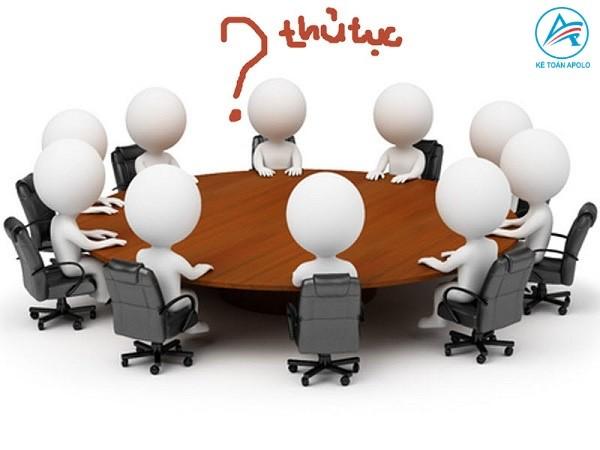 Thủ tục thành lập công ty như thế nào?