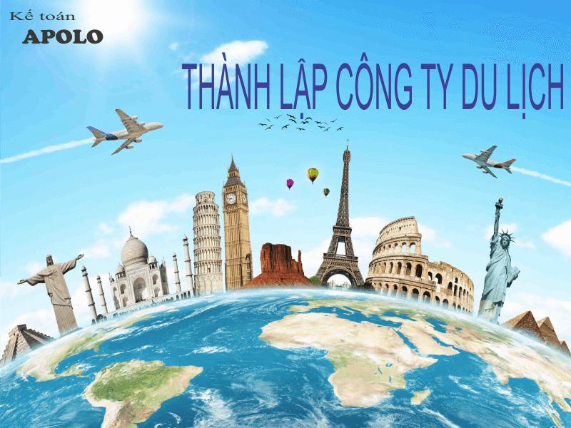 Thành lập công ty du lịch