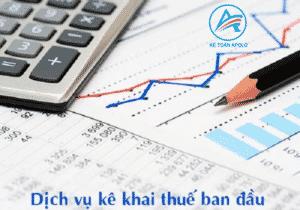 Thủ tục đăng ký thuế ban đầu