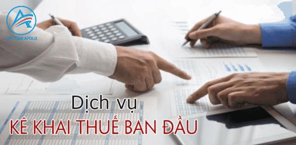 Thủ tục và hồ sơ đăng ký thuế ban đầu cho doanh nghiệp mới thành lập